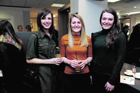Marissa Wood, Megan Rendell and Keira Watson