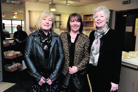 Debbie Strachan, Pauline Mckay and Madge Beattie