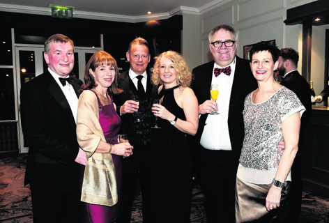 Michael and Gill MacAulay with Graeme and Gillian Hay, and Alison and Eddie Innes