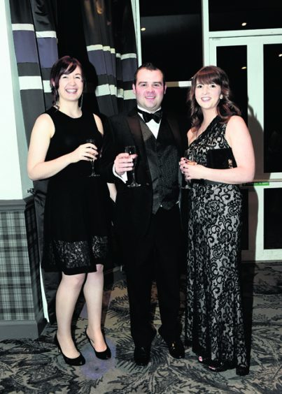 Pamela Collie, Tom Sanders and Laura Sutherland