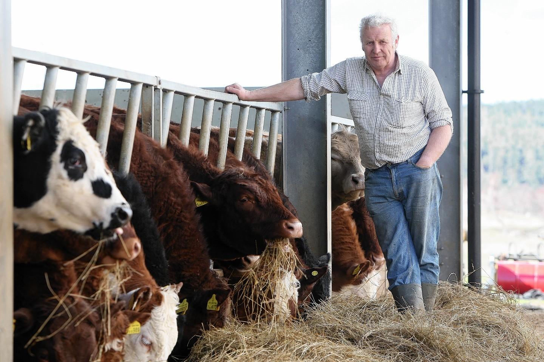 Farmer John Kirk chairs the Strathspey Water Group