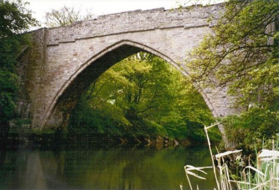 The route took in the historic Brig o Balgownie
