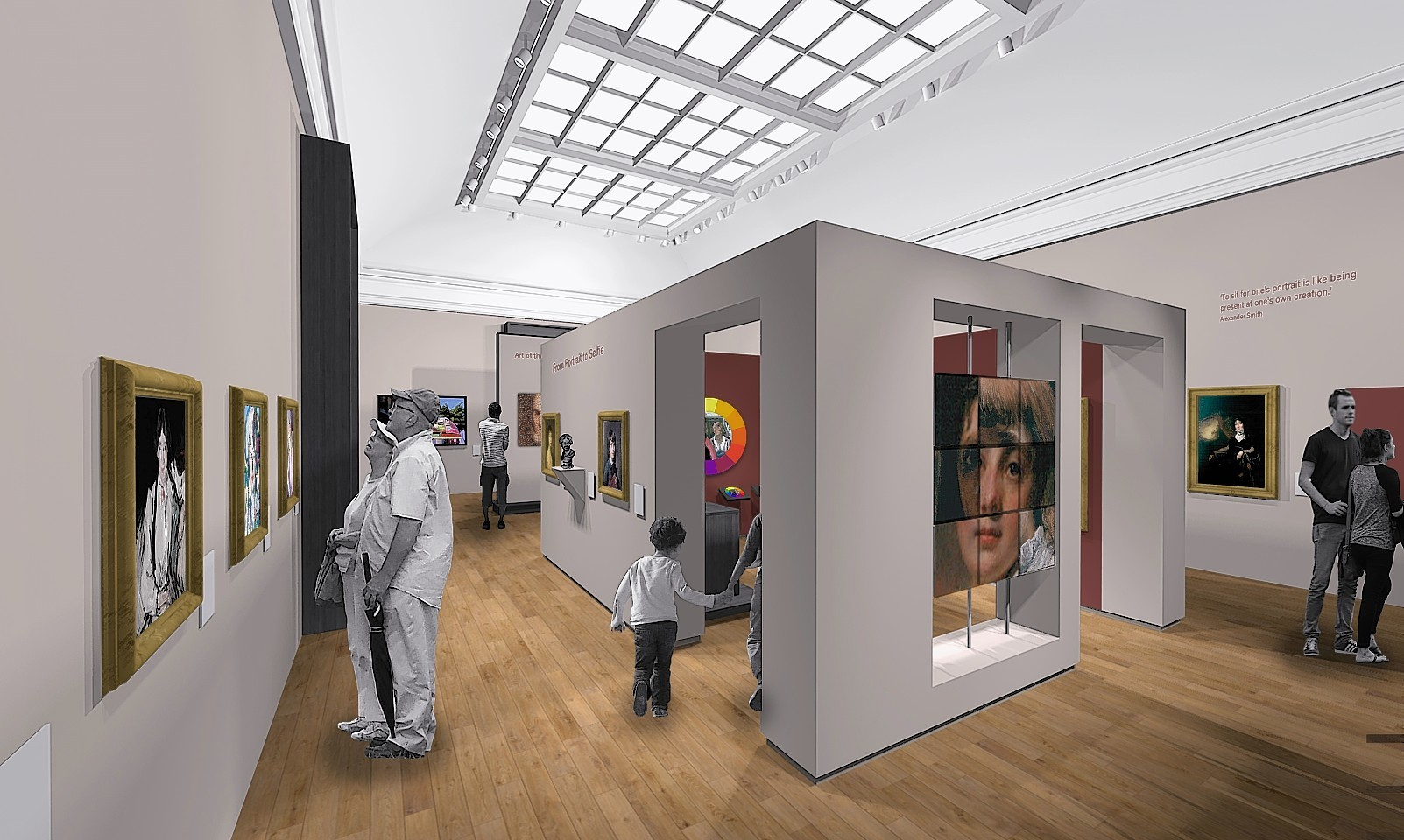 Artist Impressions showing how Aberdeen Art Gallery could look
