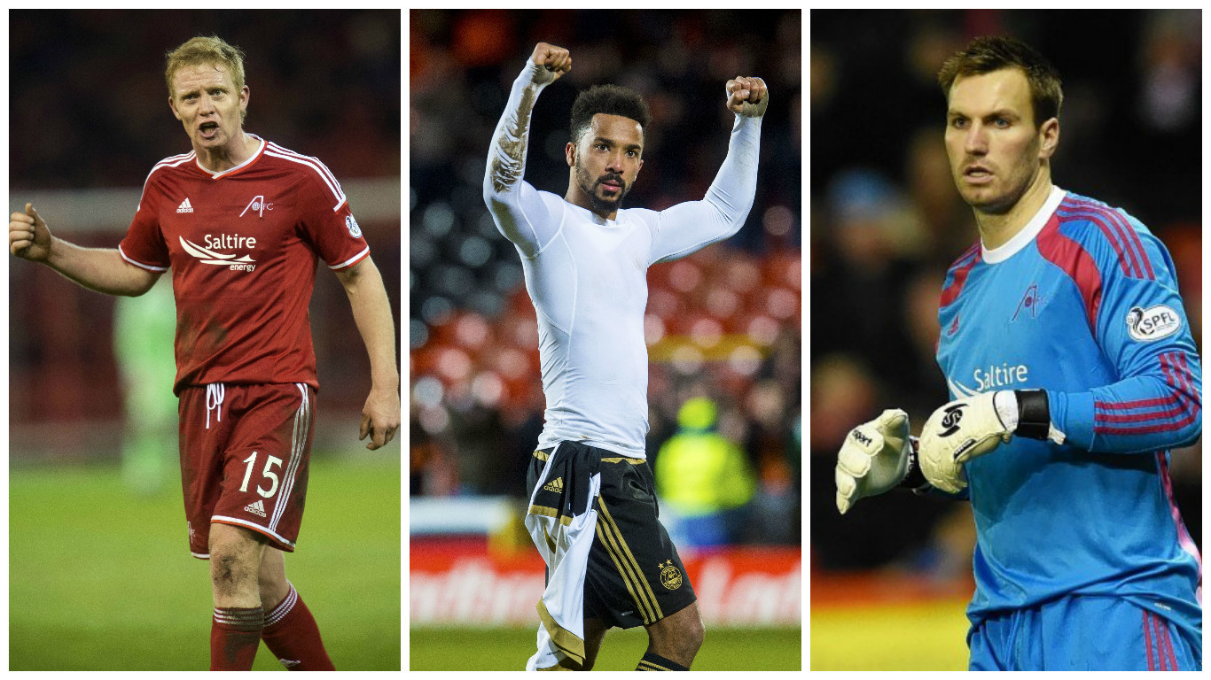 Barry Robson, Shay Logan and Scott Brown are out of contract in the summer