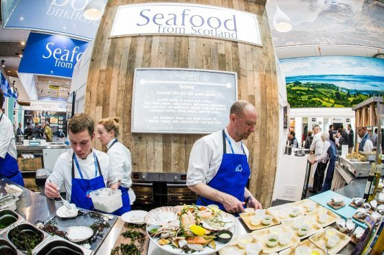 Scottish seafood treats for expo visitors in Brussels