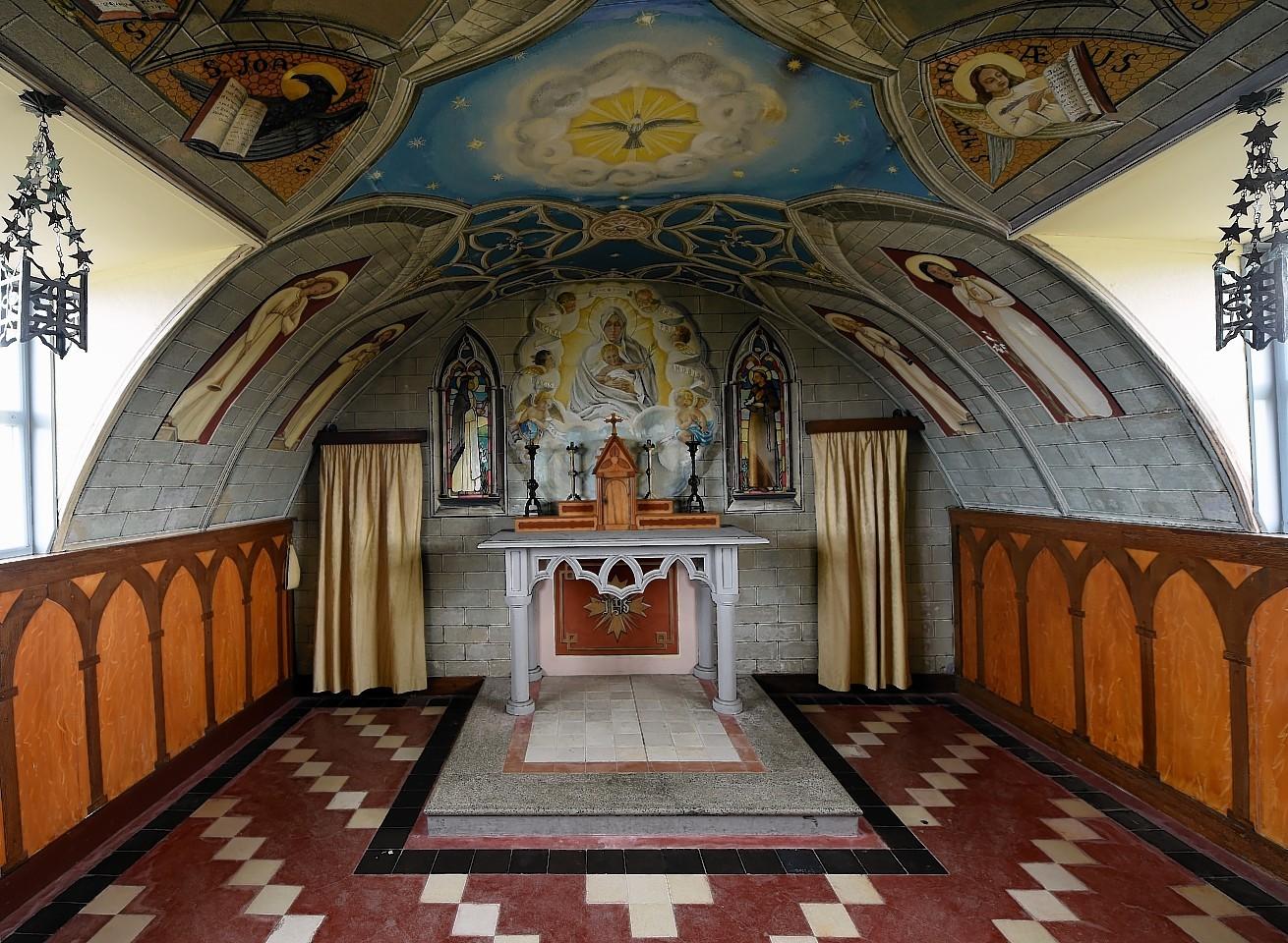 The Italian Chapel in Orkney.