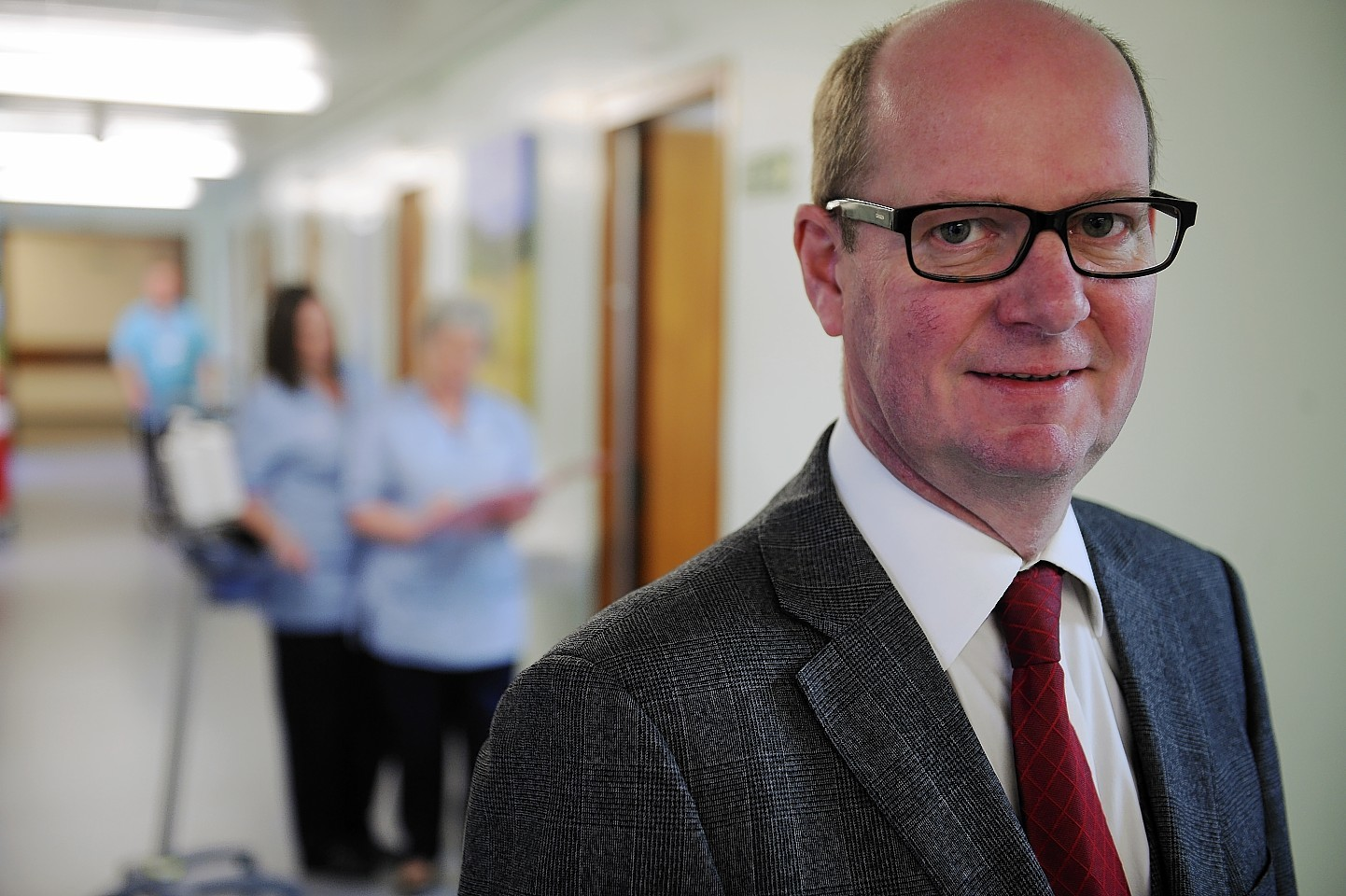 Departing NHS Highland chairman Garry Coutts.