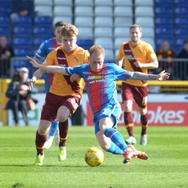 Carl Tremarco: Opened the scoring for Caley Thistle.
