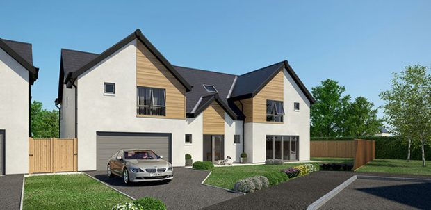 Claymore Homes have proposed a variety of house types for the Peterhead site.