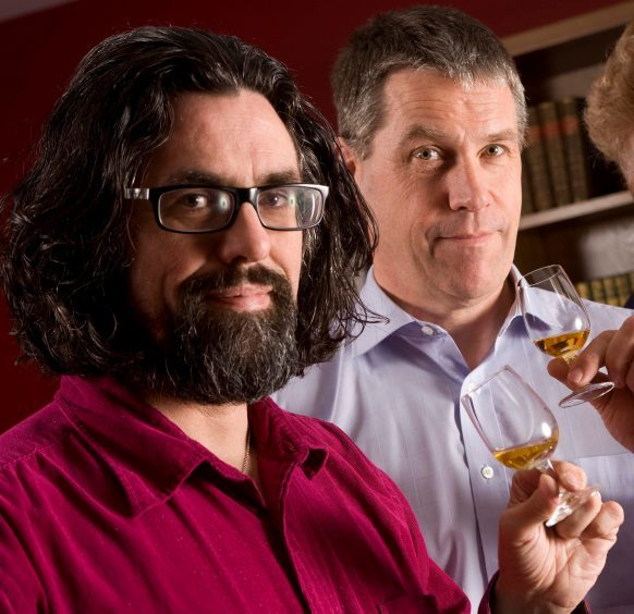 Dave Broom and Alan Winchester are appearing together at the Speyside Whisky Festival.