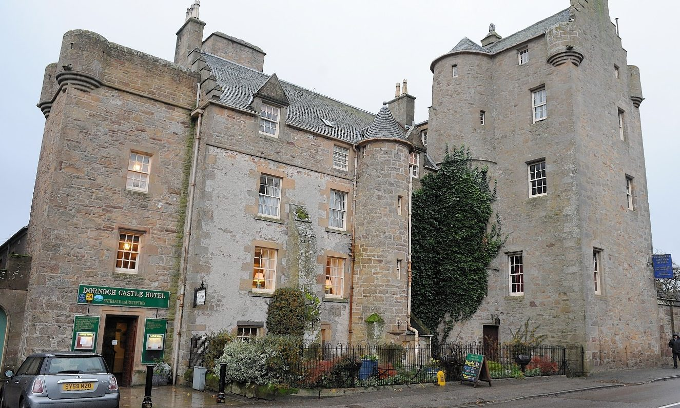 The owners of the Dornoch Castle Hotel have been stunned by the level of community support.