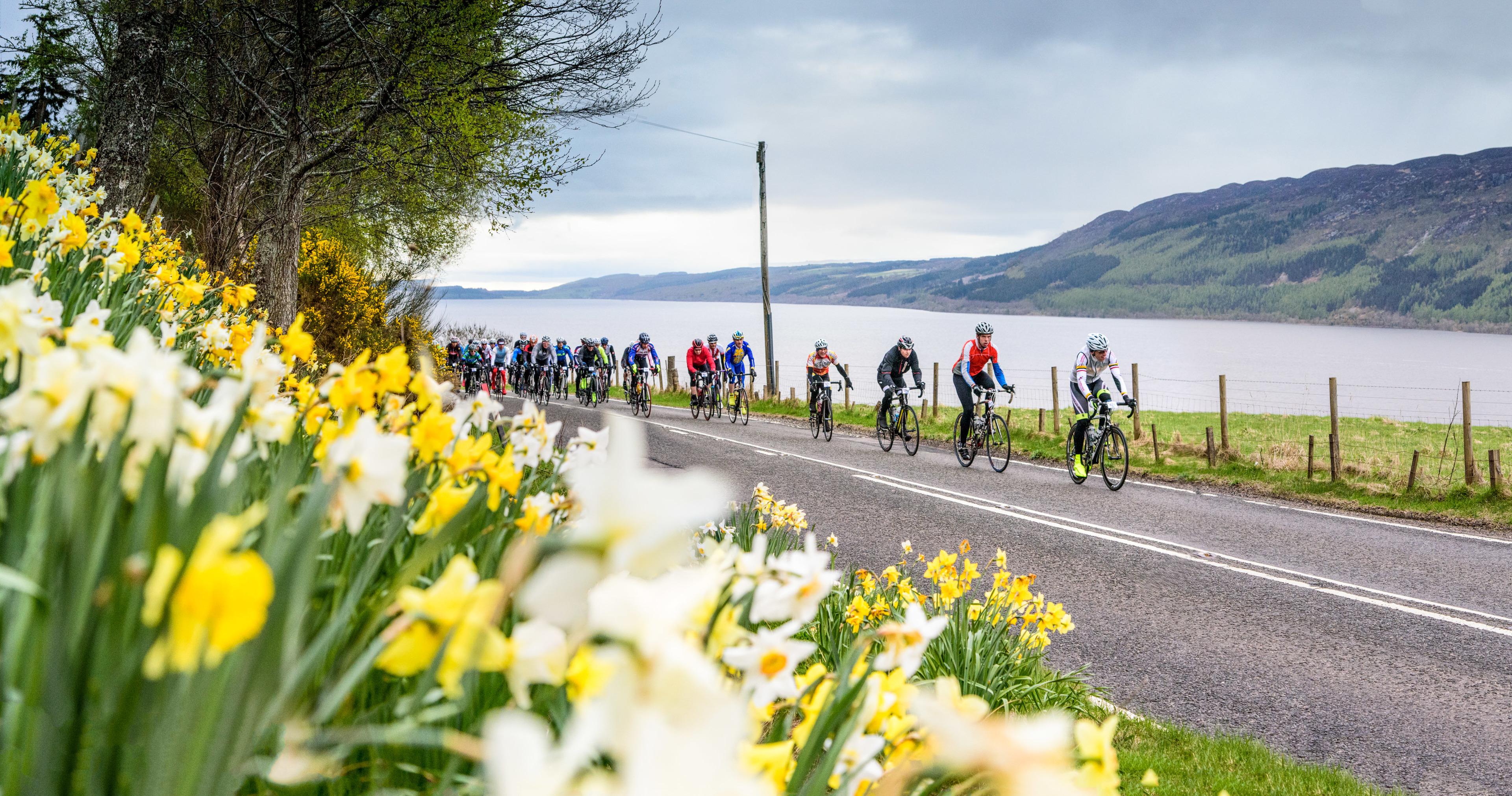 Last year's Etape Loch Ness event.