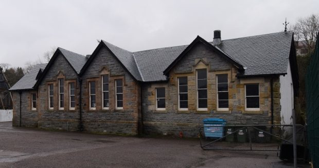 The former Fort William Primary School