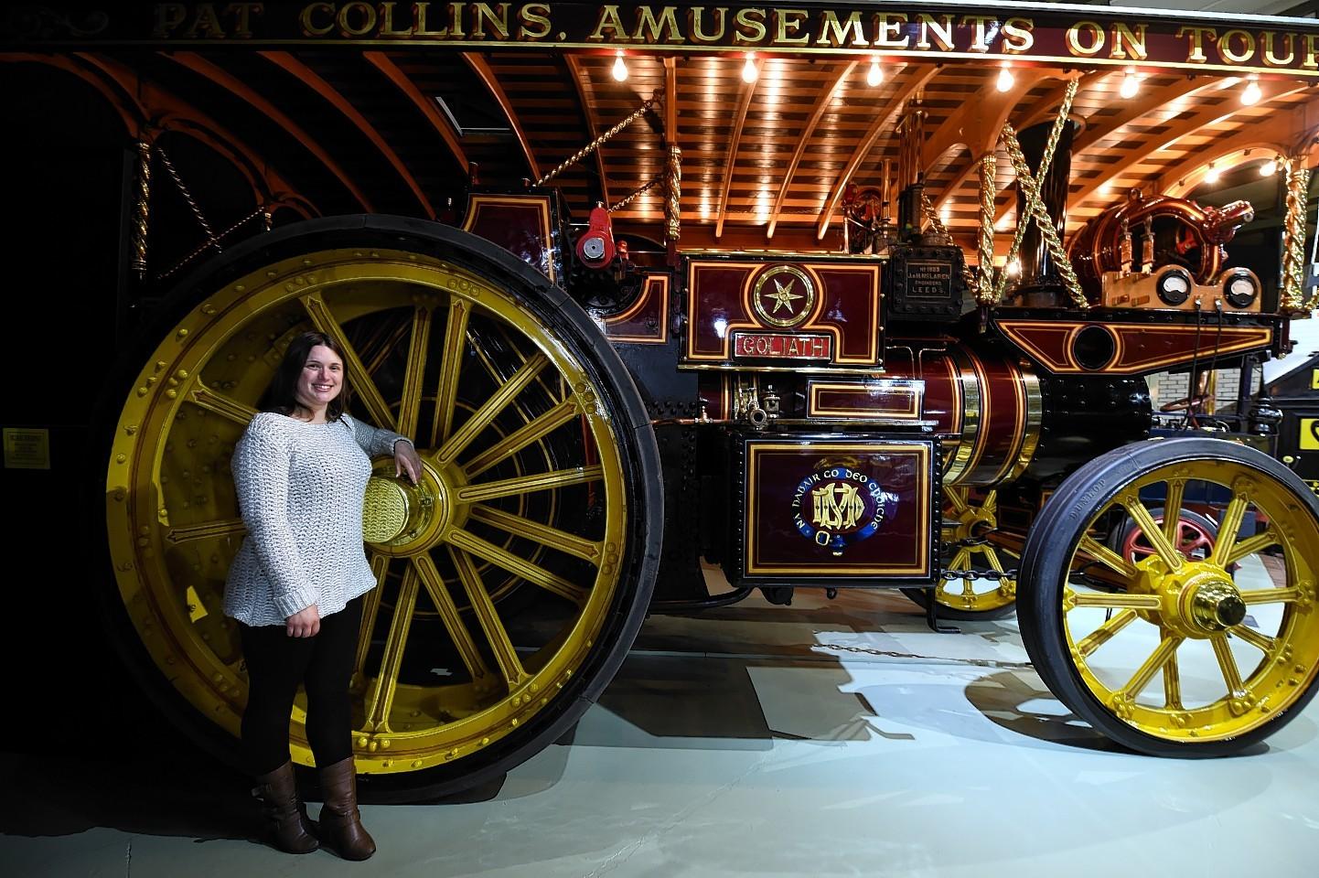 The new season of the Grampian Transport Museum, Alford.