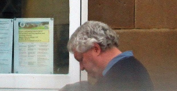 James McKie outside Oban Sheriff Court