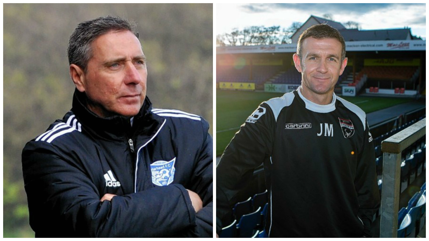 Jim McInally and Jim McIntyre are both up for the award