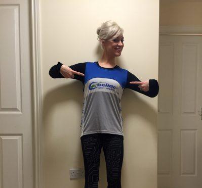 Katie Duncan-Bruce is running the Edinburgh Marathon to raise money for Coeliac UK