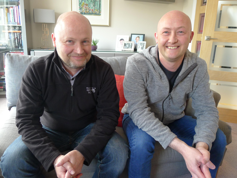 Derek and Graham Bryce