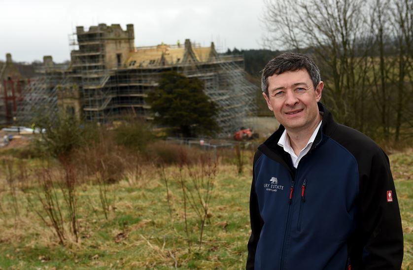 Jonathon Milne at the Ury Estate