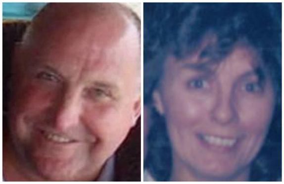 Gordon Semple and Liz Mackay