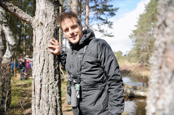 Nick Baker is returning to the Cairngorms Nature Festival