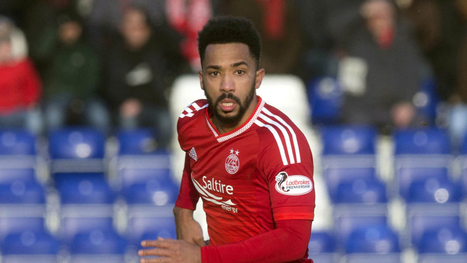 Shay Logan: Backing the Dons to bounce back at Partick Thistle.
