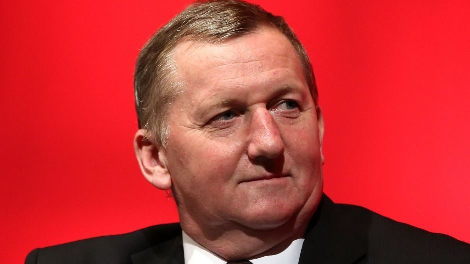 Scottish Deputy Labour Alex Rowley is running the party's campaign