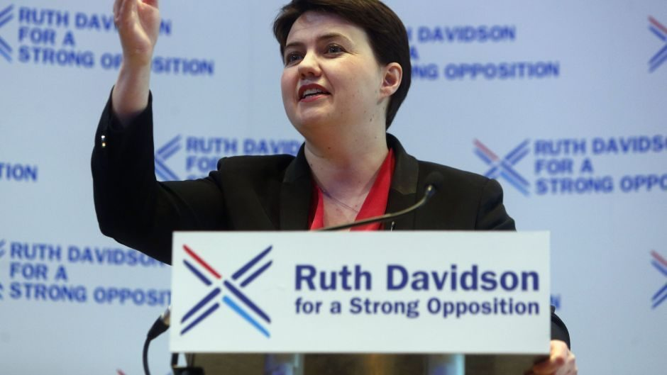 Scottish Conservative party leader Ruth Davidson criticised Kezia Dugdale over her policy on the nuclear deterrent