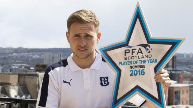 Stewart was nominated for the PFA Scotland player of the year award