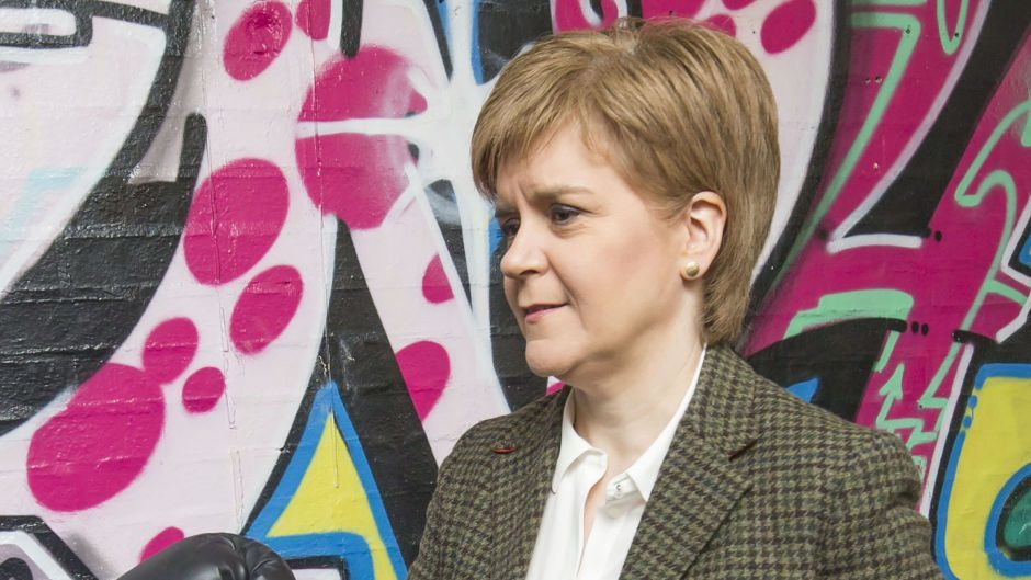 First Minister Nicola Sturgeon she was 'not aware' of the allegations against the parent company of one of the firms involved in the deal