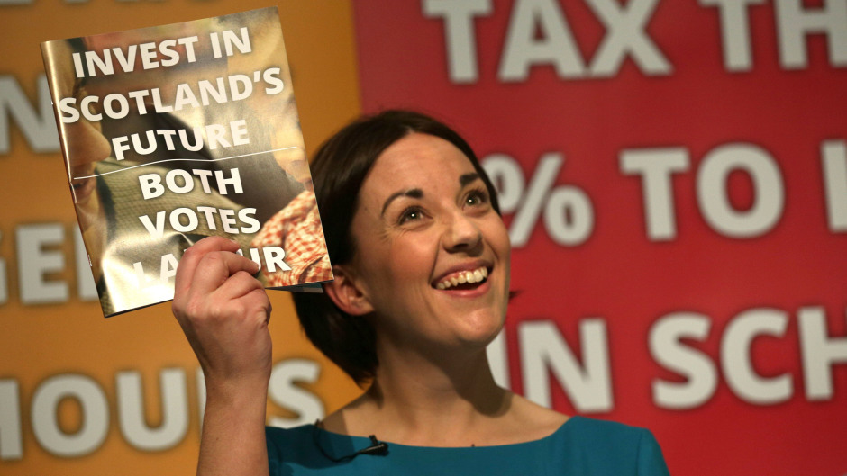 Kezia Dugdale unveiled Labour's manifesto in Edinburgh, insisting she has delivered on her plan to turn around the party's fortunes