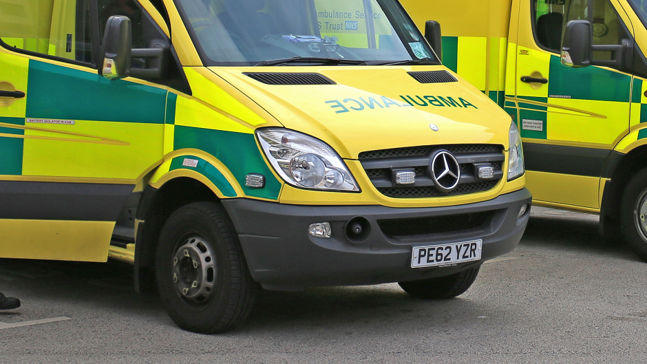 An ambulance was called after a man collapsed on Mastrick Drive