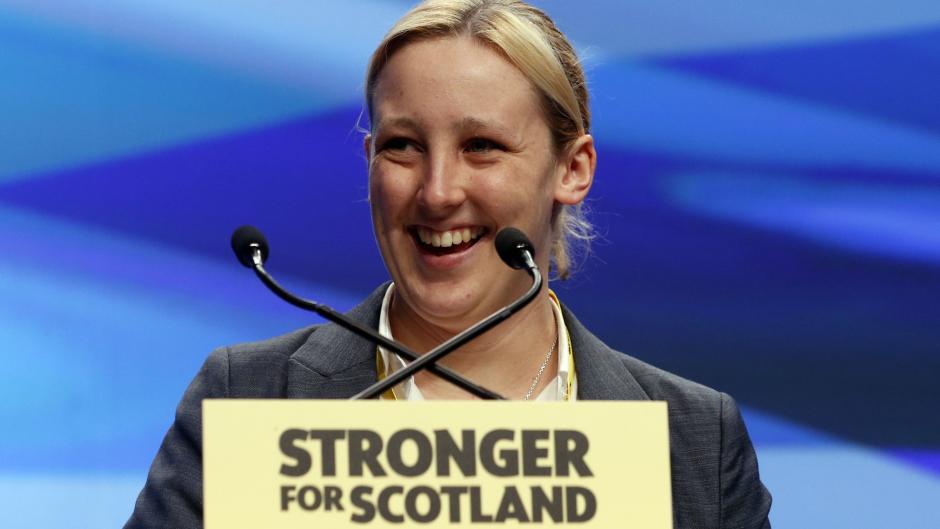 "SNP MP Mhairi Black told a journalist Mr Corbyn ""doesn't believe"" in keeping Scotland part of the UK"