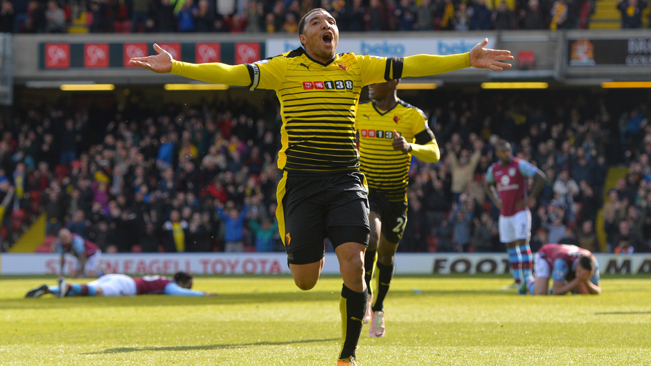 Leicester could turn to Troy Deeney if Jamie Vardy leaves the club