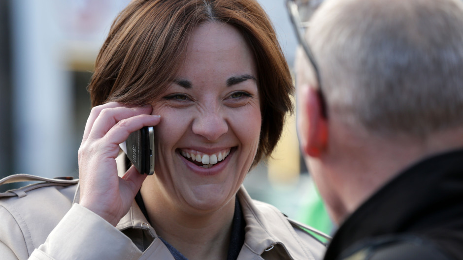 Scottish Labour leader Kezia Dugdale said she had no recollection of the application