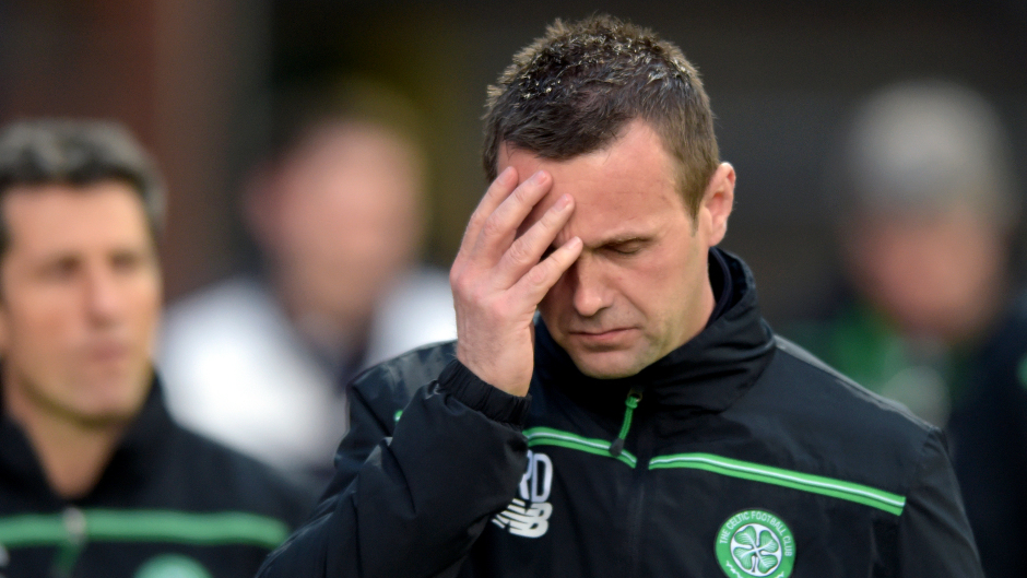 Ronny Deila has had a challenging time as Celtic manager