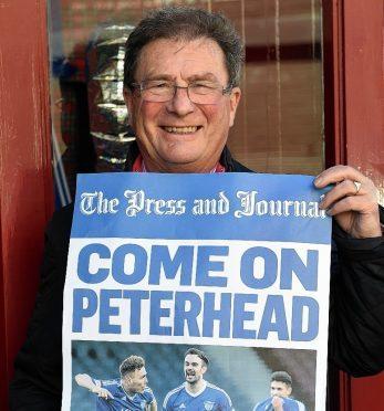 Peterhead chairman Roger Morrison
