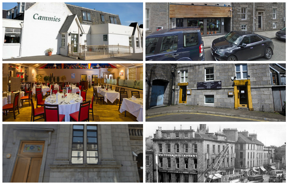 Some of Aberdeen's favourite restaurants have been forced to close in recent years