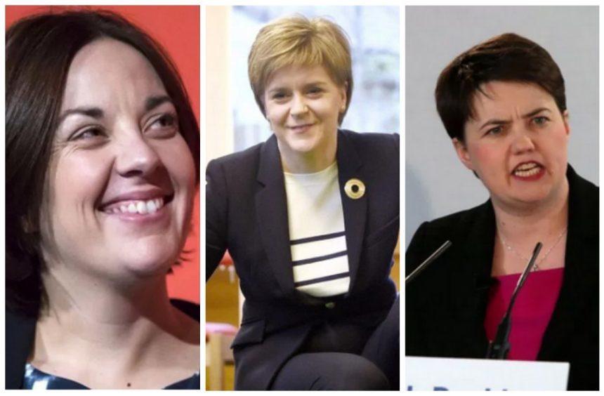 Kezia Dugdale, Nicola Sturgeon and Ruth Davidson
