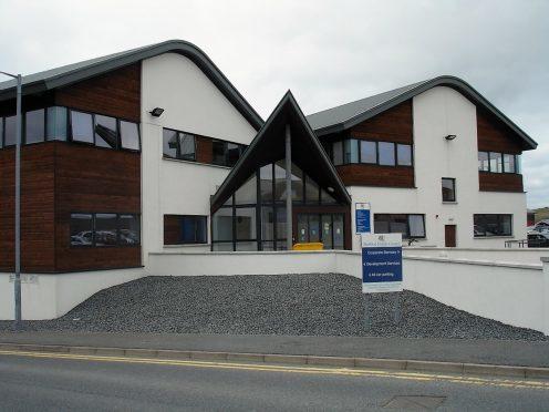 Shetland Islands Council building