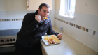 Daniel Pennock lives on sausages and chips