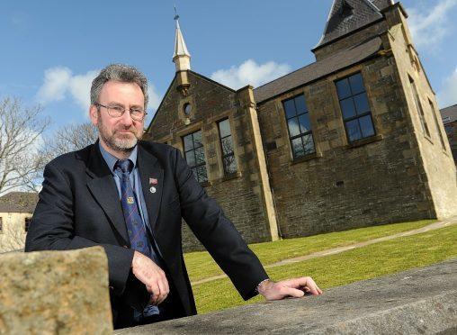 Former Orkney Islands Council convener Steven Heddle
