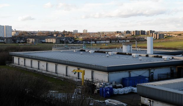 Nigg Waste Water Treatment Plant