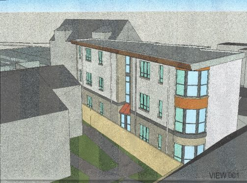 "Plans for the flats in Turriff's ""historic core"""