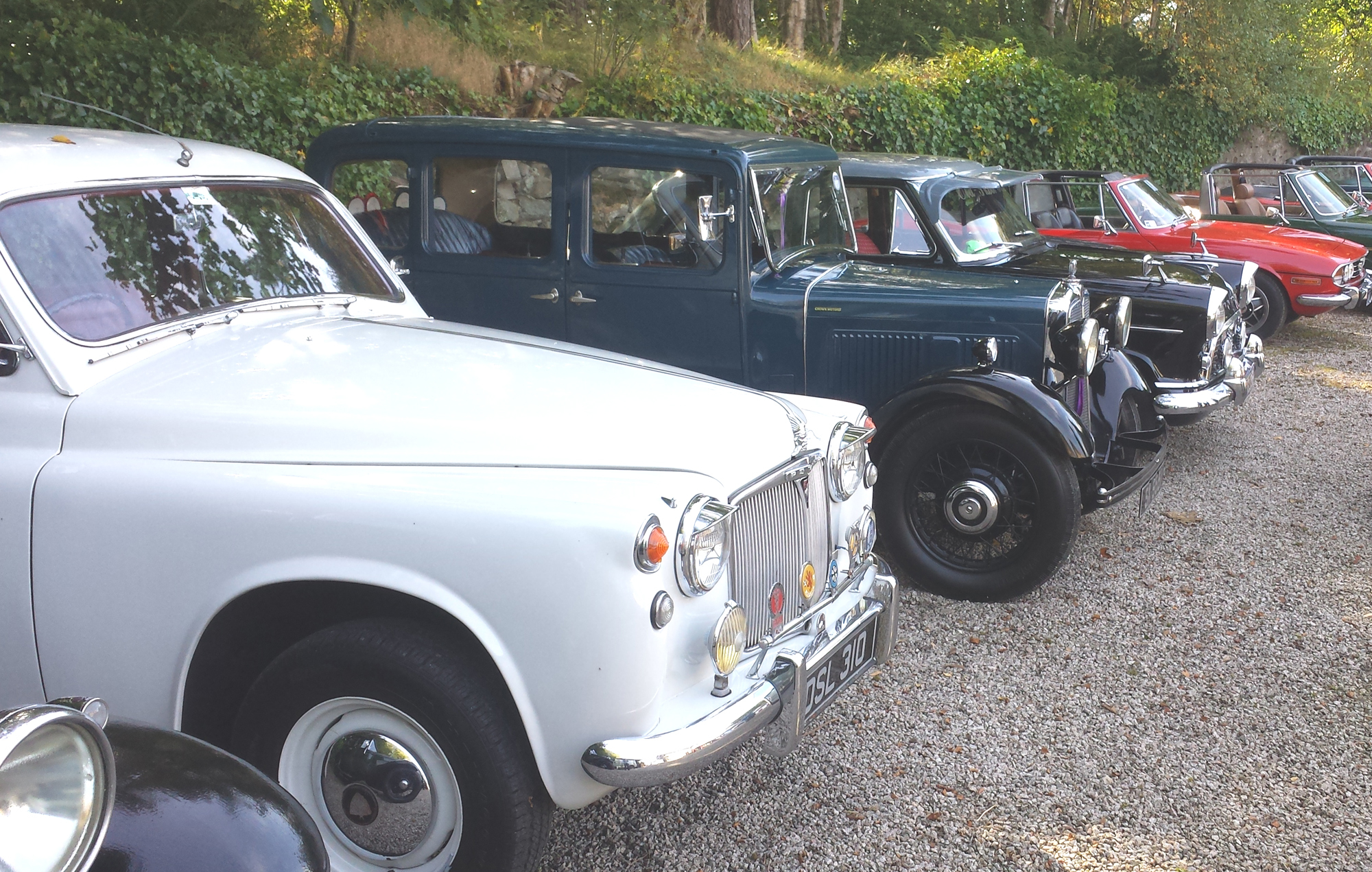 Vintage cars will be on display at Aden Country Park.