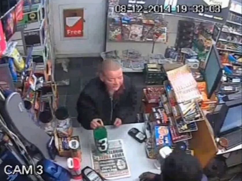 Undated handout still from CCTV issued by Cleveland Police of Angela Wrightson in a shop