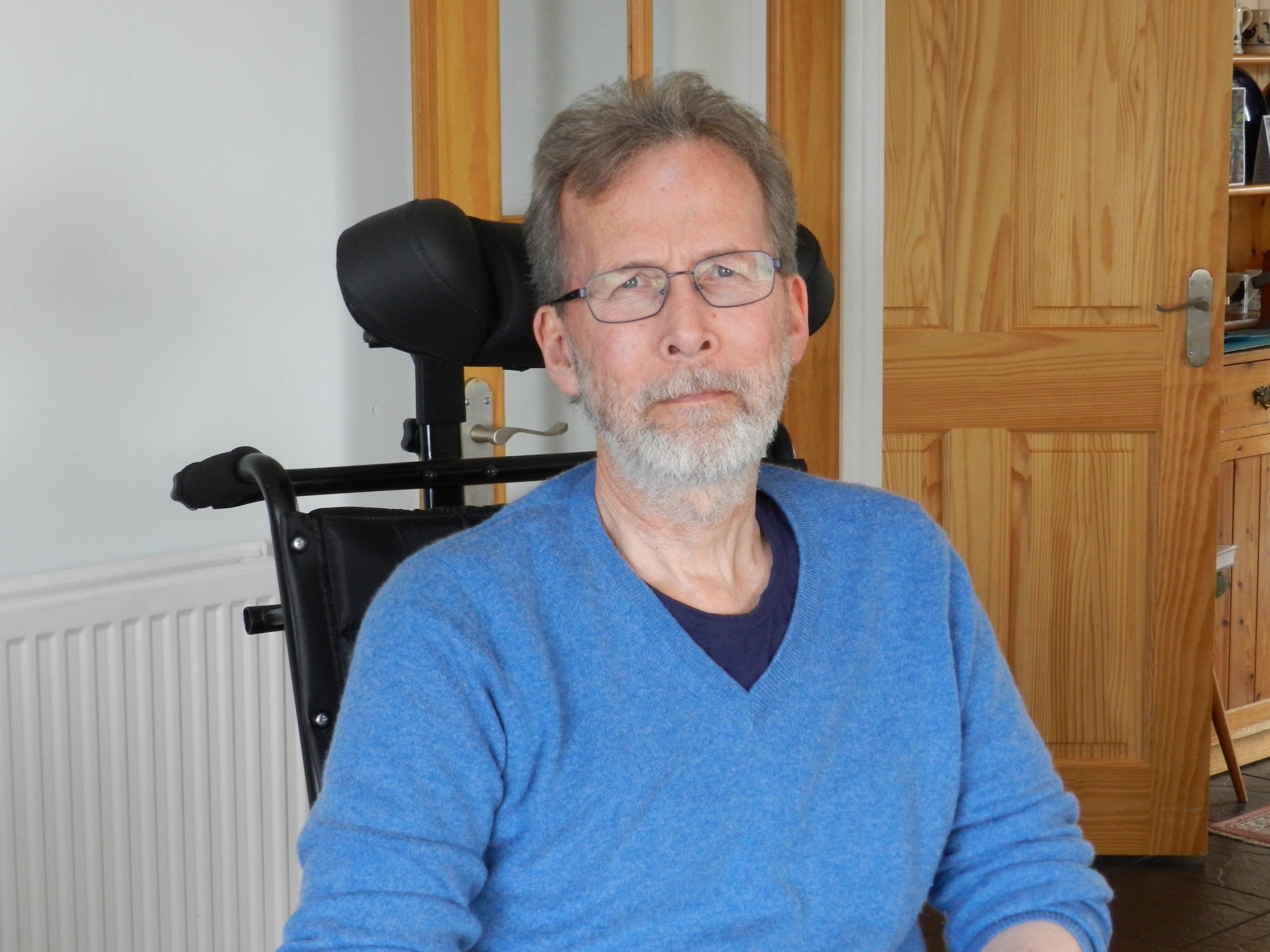 Forres resident Alan Beevers wants to see video-link appointments introduced.