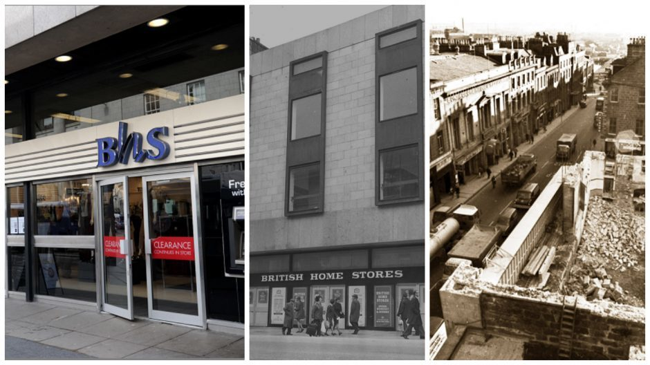 BHS first opened a branch in Aberdeen in 1974.