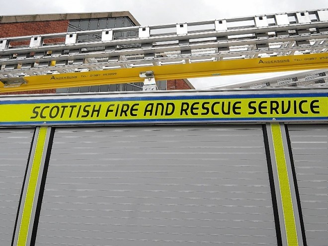 A house in Stornoway has been fire and smoke damaged.