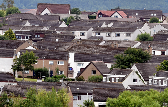 """Officials were asked why it appeared council-owned homes in Forres were being """"missed out"""" for new insulation."""